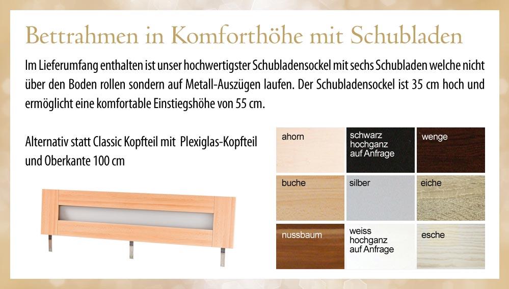 silverline wasserbett komplett mit schubladen bettrahmen. Black Bedroom Furniture Sets. Home Design Ideas
